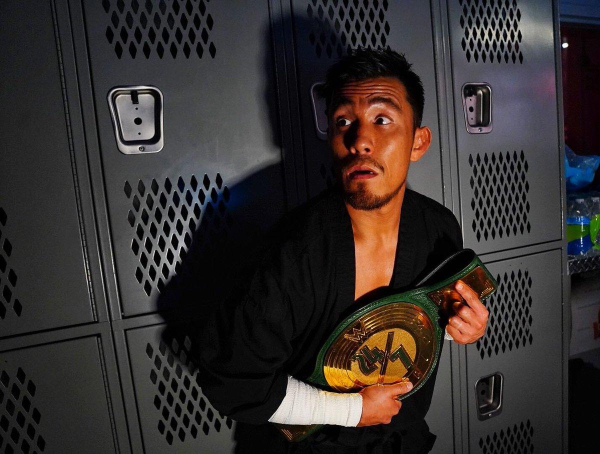 Akira Tozawa conquista o WWE 24/7 Championship pela terceira vez