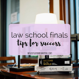 the keys to law school finals are to point chase by using buzzwords, organization, and supporting your arguments | brazenandbrunette.com