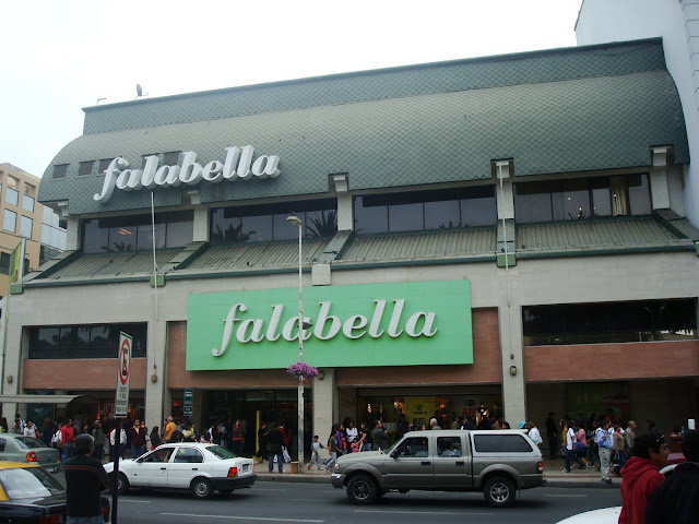 Loja Falabella em Córdoba na Argentina