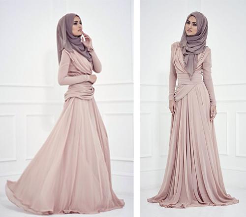 contoh model baju gaun