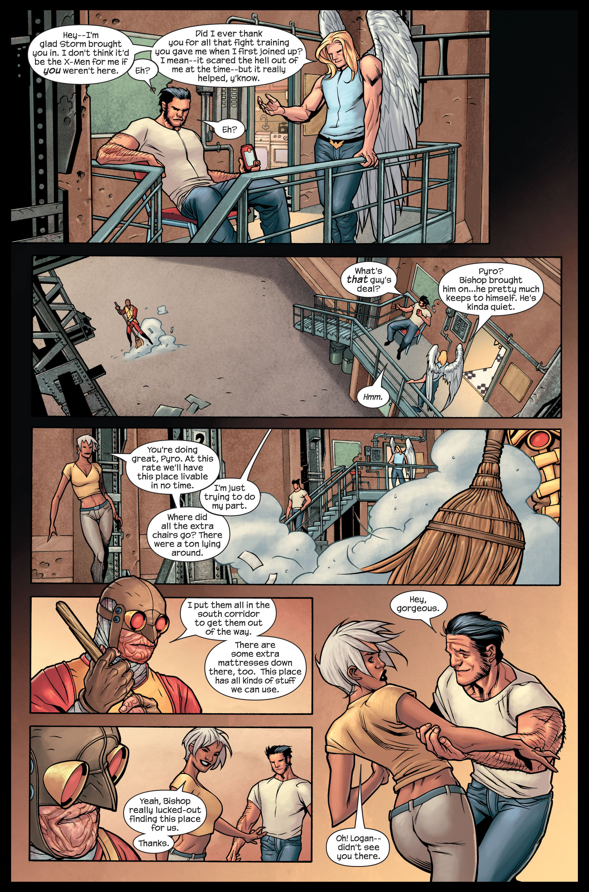 Read online Ultimate X-Men comic -  Issue #84 - 15