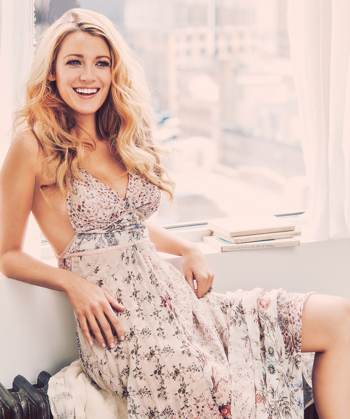 Blake Lively Fashion Model