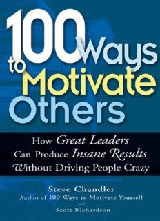 100 Ways to Motivate others PDF download