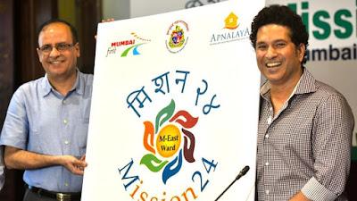 Sachin Tendulkar launched Mission-24 programme in Mumbai