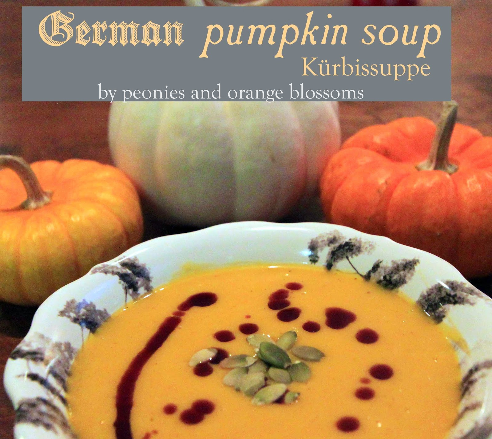 German Pumpkin Soup Recipe