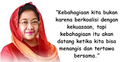 Kartu ucapan Kemerdekaan Presiden Megawati Soekarnoputri