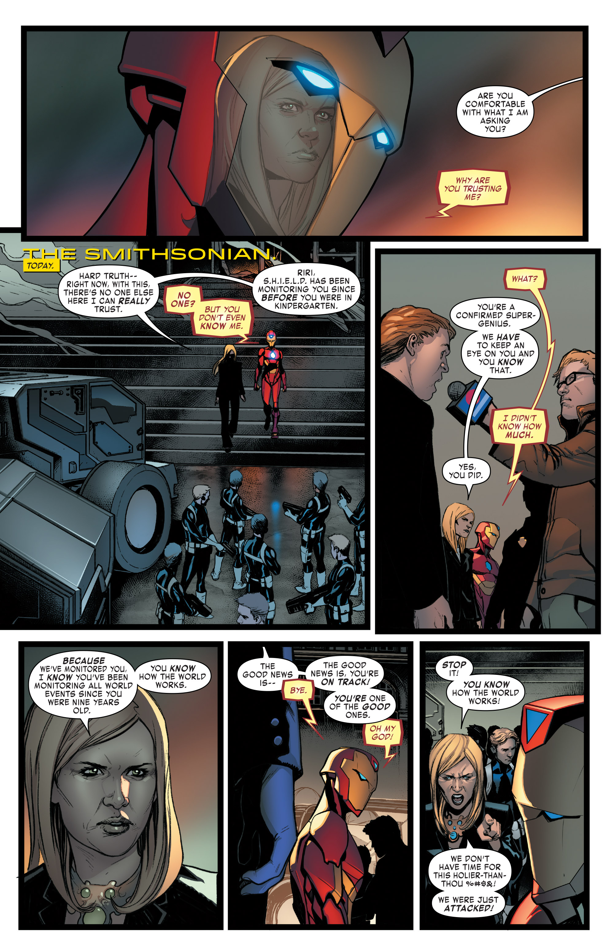 Read online Invincible Iron Man (2016) comic -  Issue #8 - 10