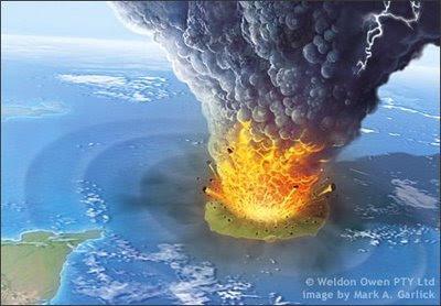 Letusan gunung berapi besar