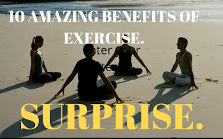 TOP 10 BENEFITS OF EXERCISE, exercise
