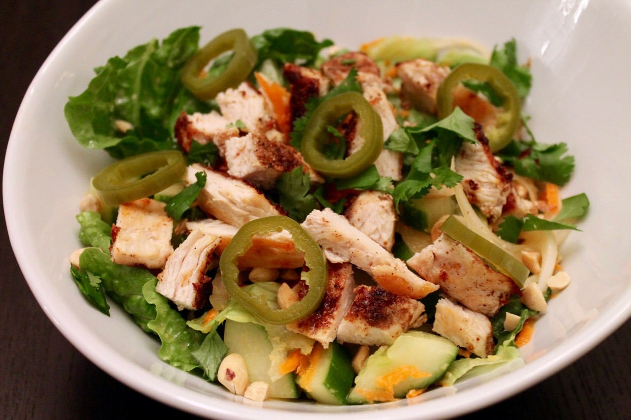Cook In / Dine Out: Faux Pho Salad (Vietnamese Chicken Salad)