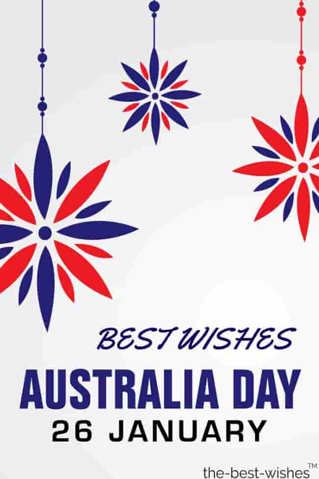 best wishes for australia day