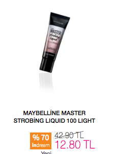 Maybelline Master Strobing Liquid Aydınlatıcı
