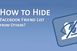 How to Hide Friend List On Facebook From Friends