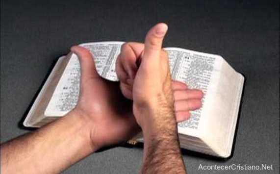 Traducción de la Biblia al lenguaje de señas
