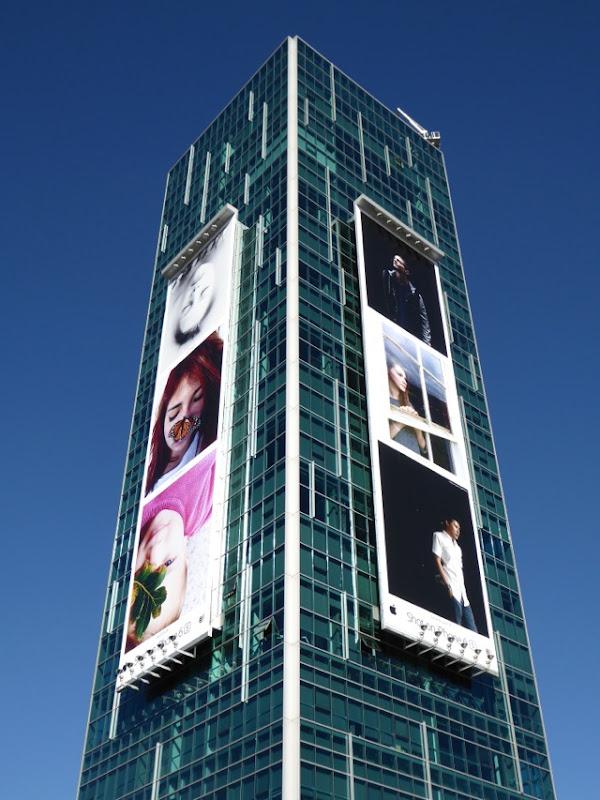 Shot on iPhone 6s portraits billboards
