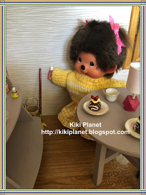 kiki monchhichi halloween chucky, cult of chucky, child's play, wanna play