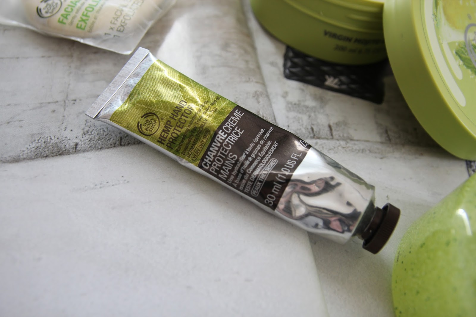 The Body Shop Hemp Hand Cream