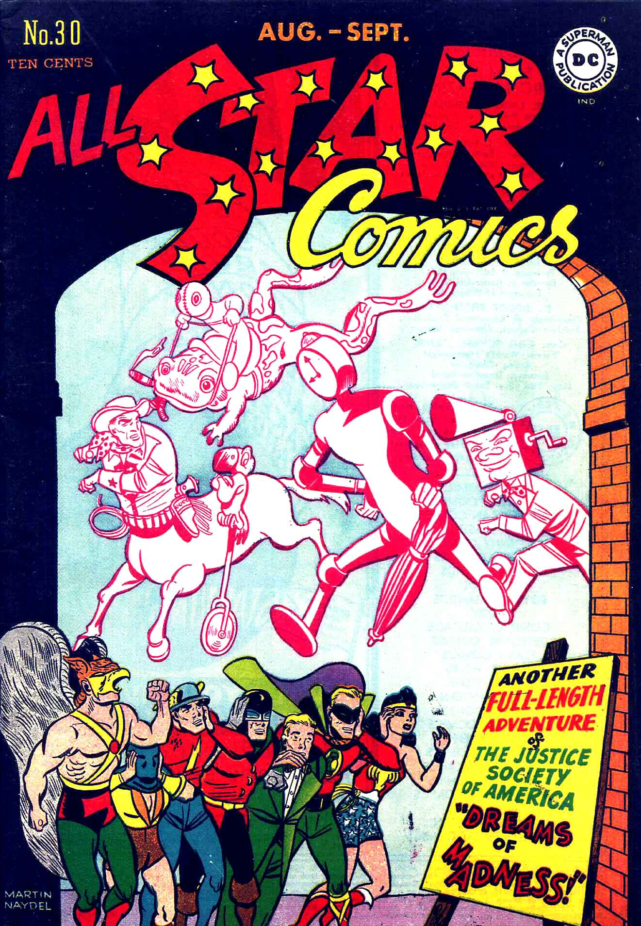 All-Star Comics (1940) issue 30 - Page 1