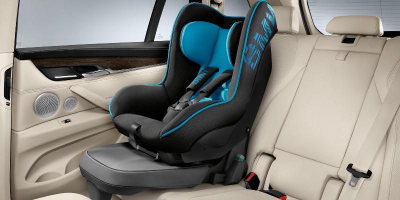 Детское кресло в BMW X5