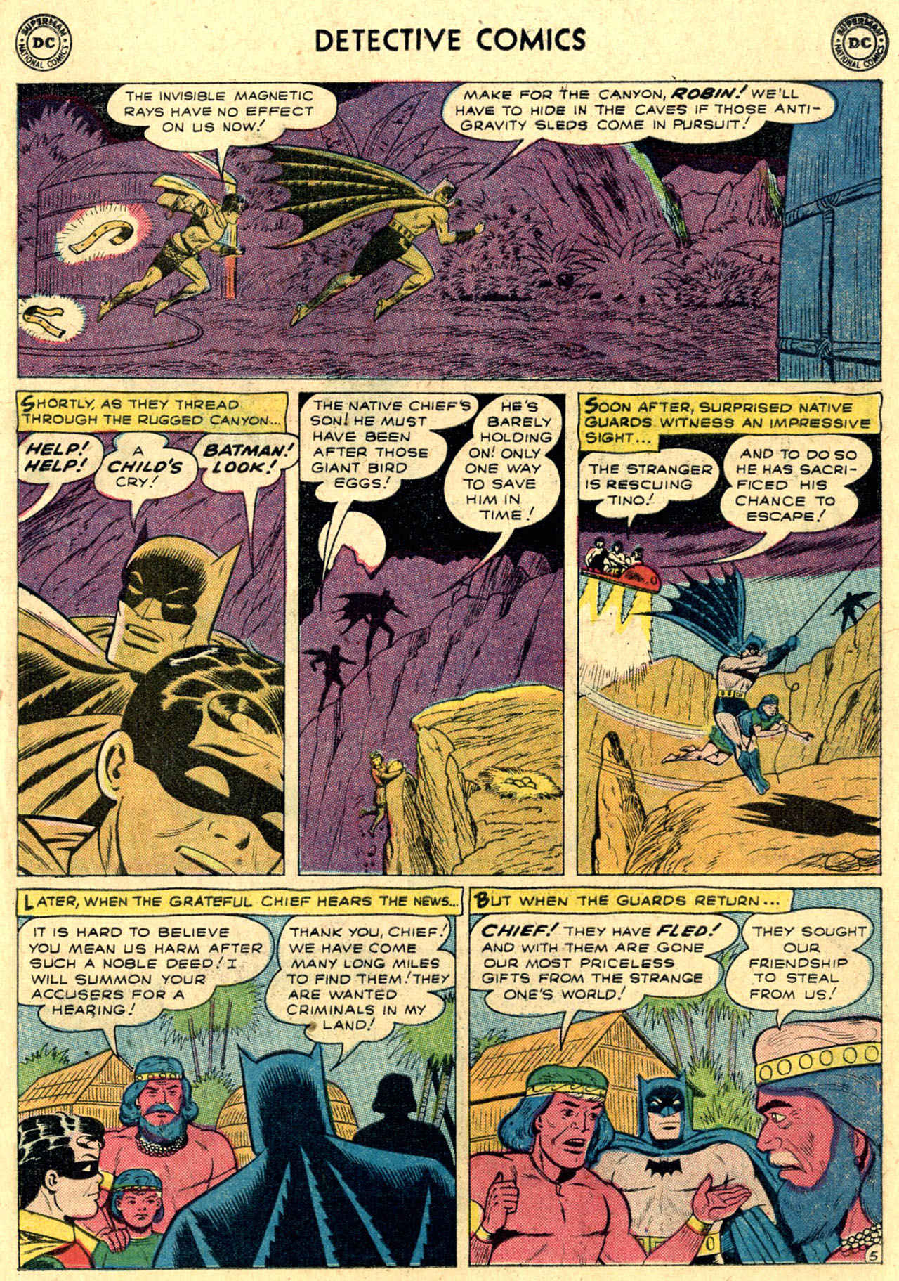 Read online Detective Comics (1937) comic -  Issue #263 - 7