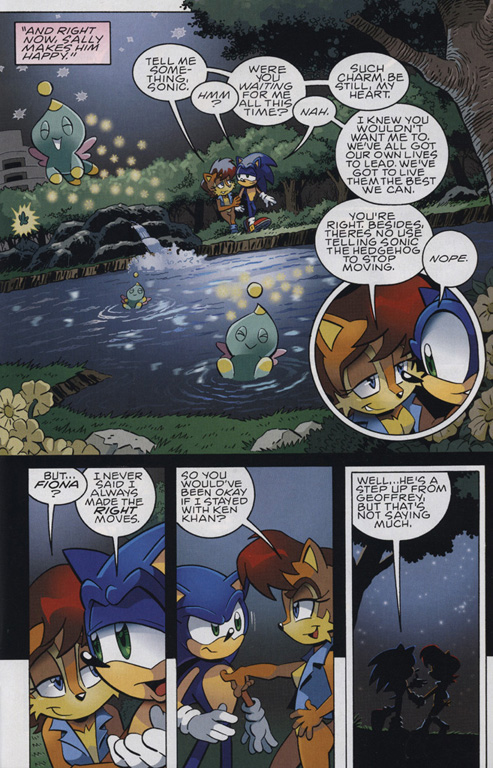 Read online Sonic The Hedgehog comic -  Issue #222 - 17