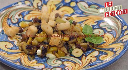 La Cuoca Bendata - Caponata di pesce spada ricetta Parodi