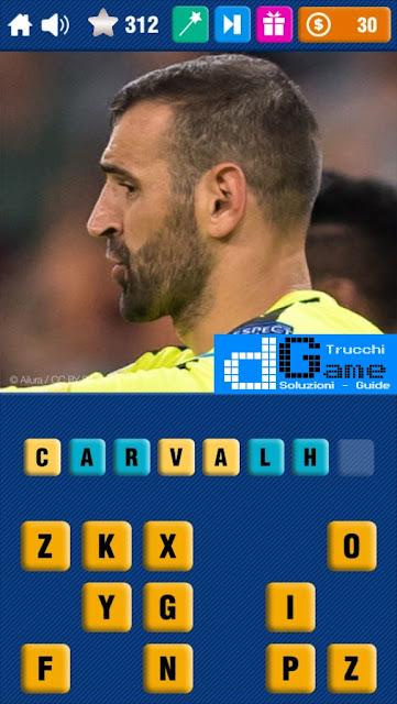 Calcio Quiz 2017 soluzione livello 311-320 | Parola e foto