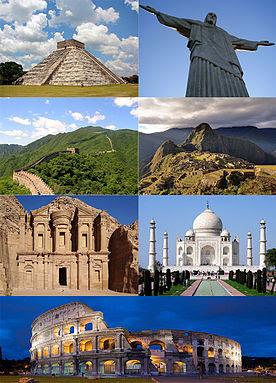 World's Top 7 Wonders
