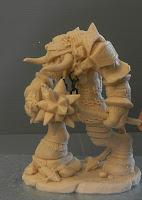 statuette fantasy fatte a mano da collezione da colorare orme magiche