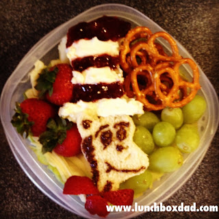 dr seuss cat in the hat kids lunch