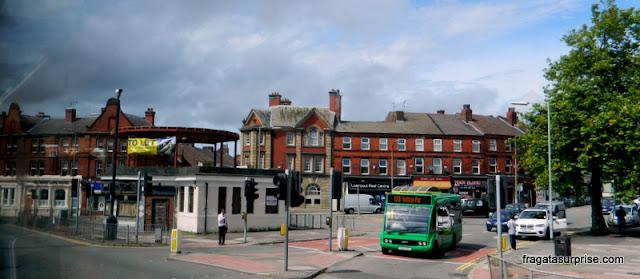Abrigo de ônibus citado na letra de Penny Lane, Liverpool