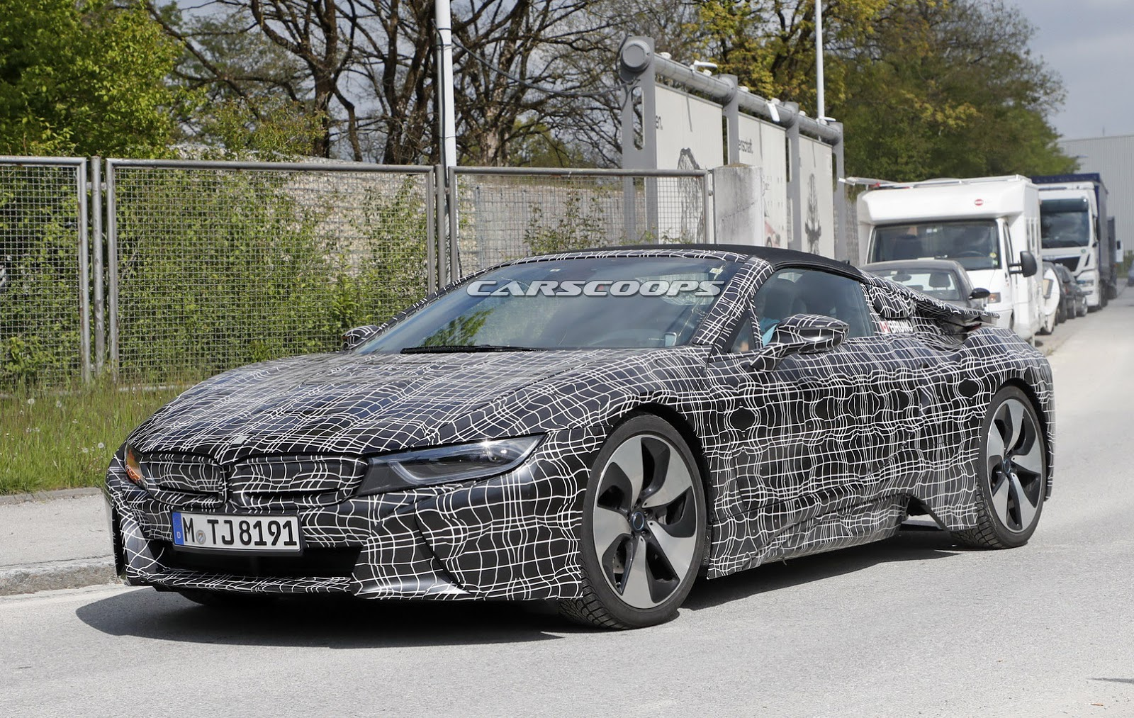 BMW I8 Spyder To Benefit From Greater Range