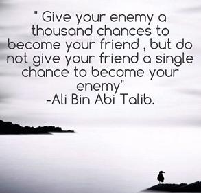 Kumpulan Kata Bijak dan Kata Mutiara Islami Sayyidina Ali Bin Abi Thalib