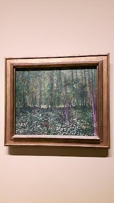 Wälder in Fontainebleau von Van Gogh