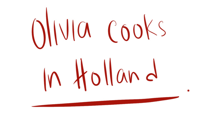 Olivia Cooks in Holland