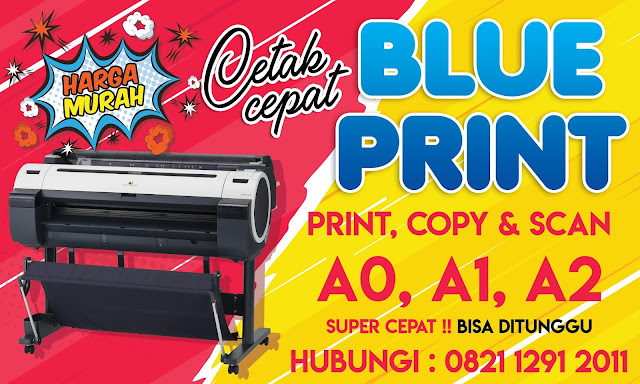 Jasa Print A0,A1,dan A2 Jakarta