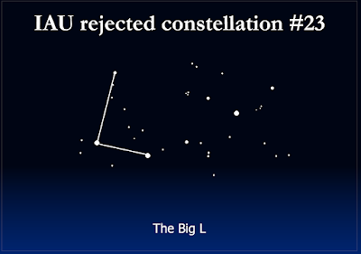 rejected constellation - the big L