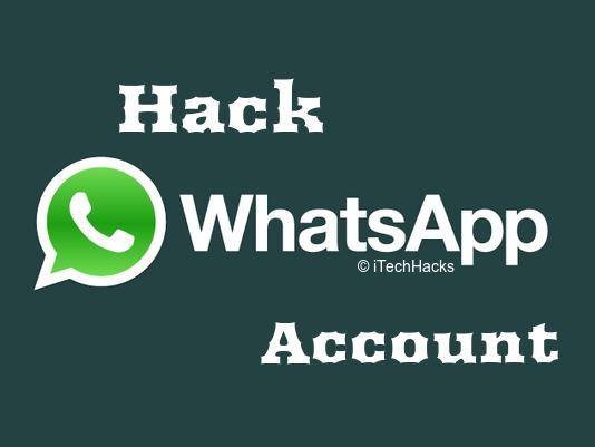 Hack WhatsApp Account 2016