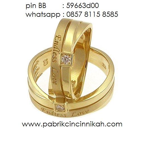 cincin nikah emas