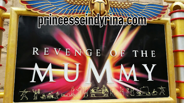 Revenge of The Mummy poster