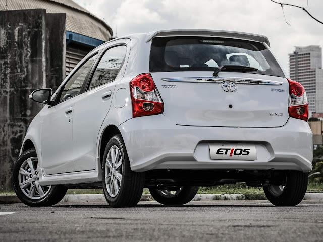 Toyota Etios 2018 - preço