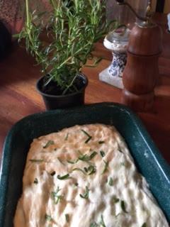 homemade focaccia bread maker recipe