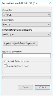 Format USB