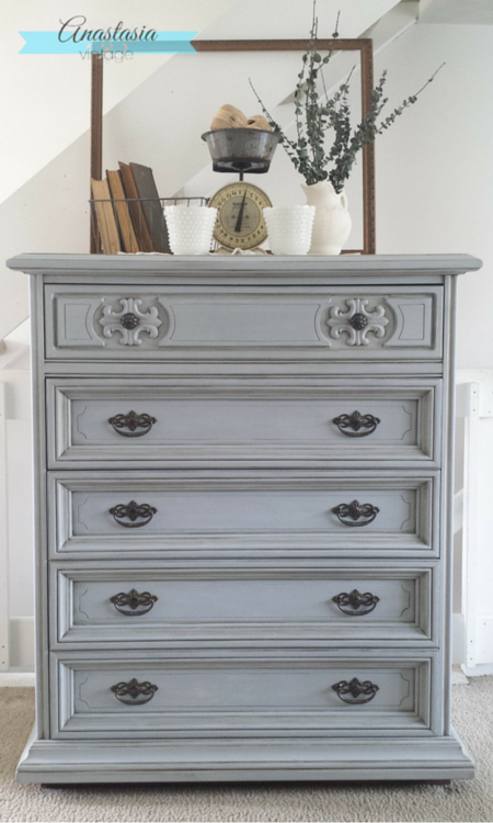 Curbside Cabinet Turned Classy with Pure & Original Classico Paint ...
