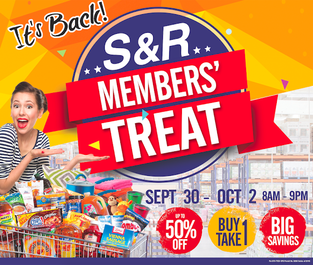 S&R's Grand Members' Treat Sale for 2016