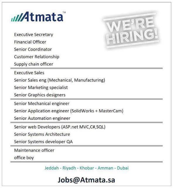 Job Opening at Atmata