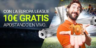 Luckia apuesta gratuita 10 euros Europa League 28 septiembre