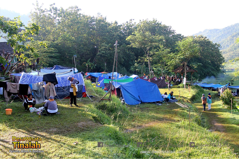 wisata outdoor jogja Camping Dan Outbound MAN 2 Jogja Di Desa Wisata Tinalah