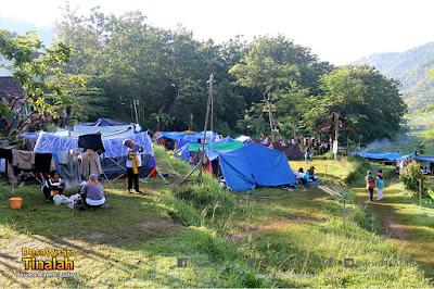 camping dan outbound man 2 jogja - outbound dan camping jogja - desa wisata tinalah