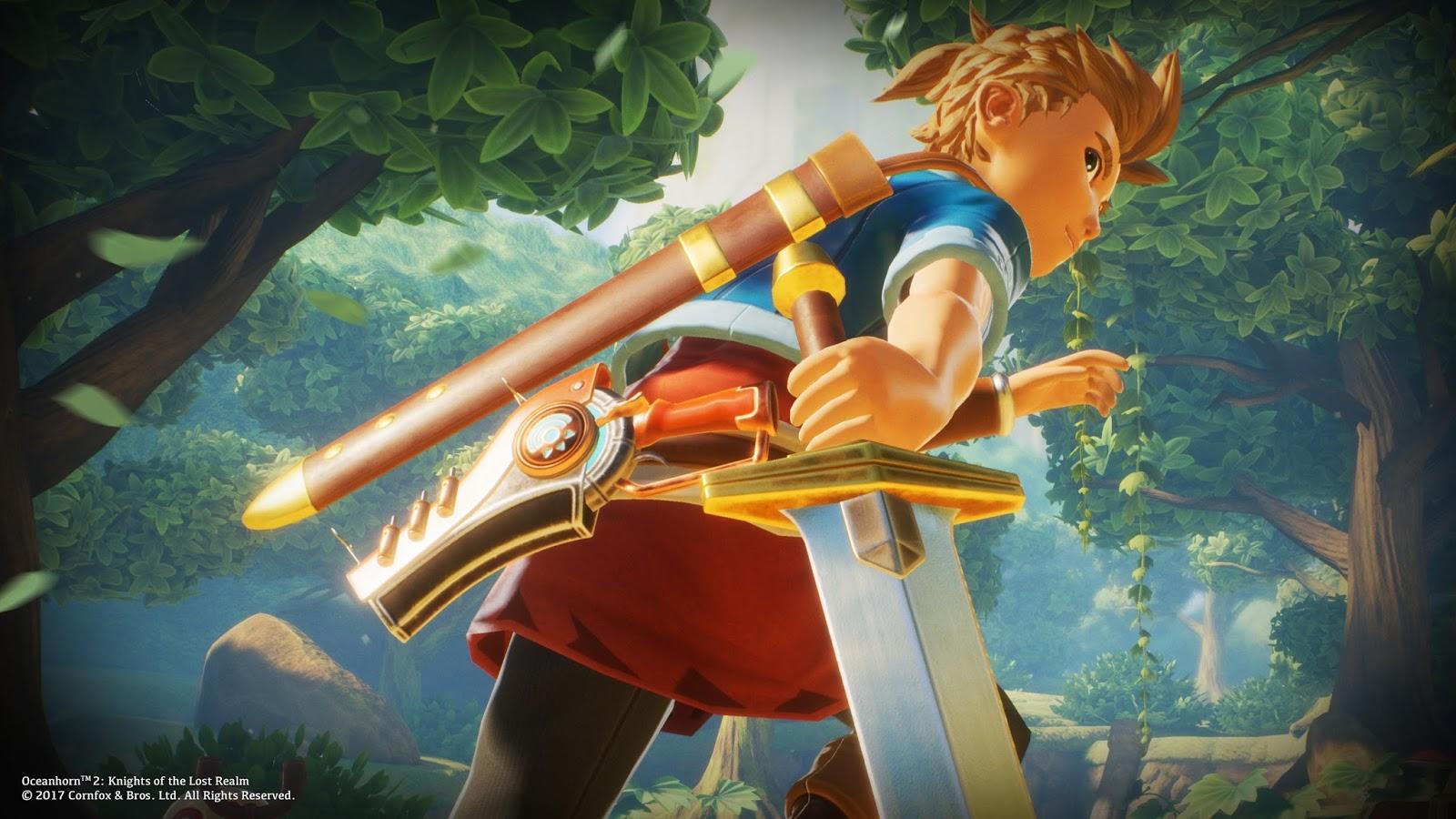 Cheers Girl Wallpaper Oceanhorn The Adventure Game